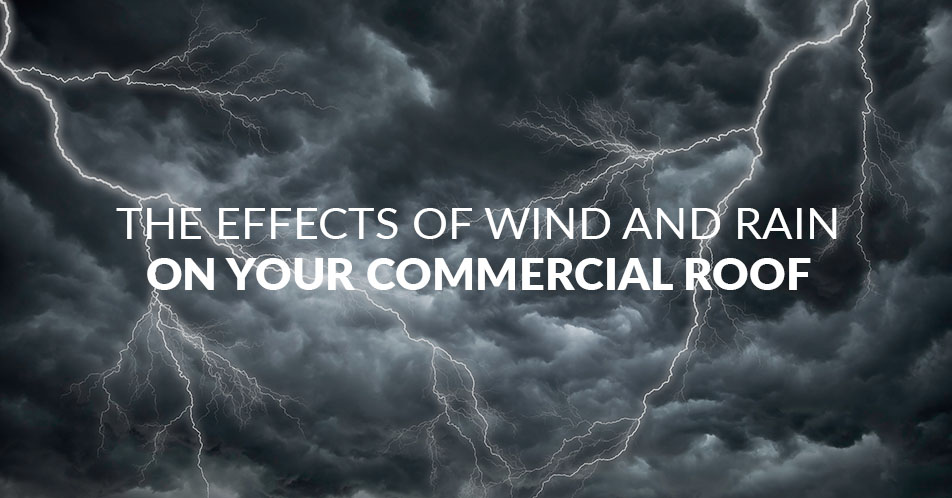 The Effects of Wind and Rain on Your Commercial Roof
