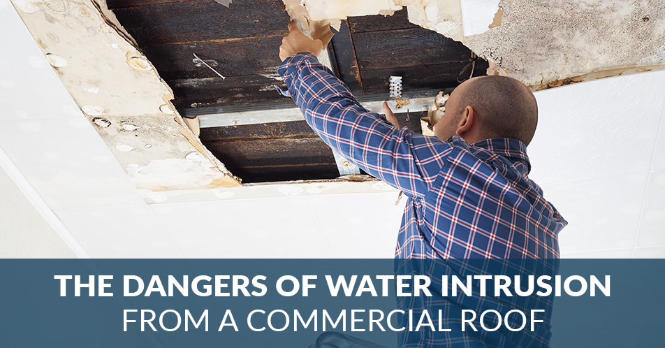 The Dangers of Water Intrusion From a Commercial Roof